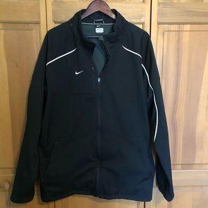Nike windbreaker jacket size XXL black